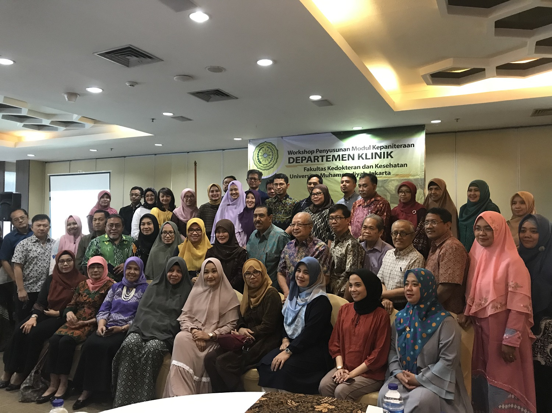 Workshop Departemen FKK UMJ & Wahana Pendidikan