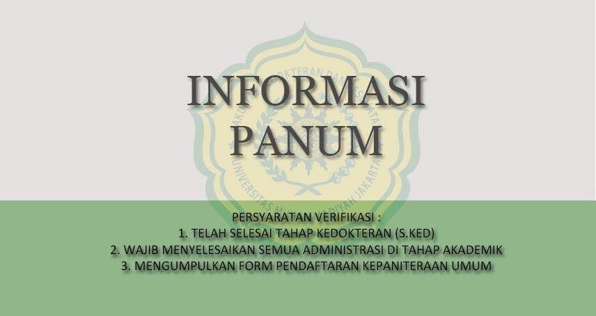 INFORMASI PANUM