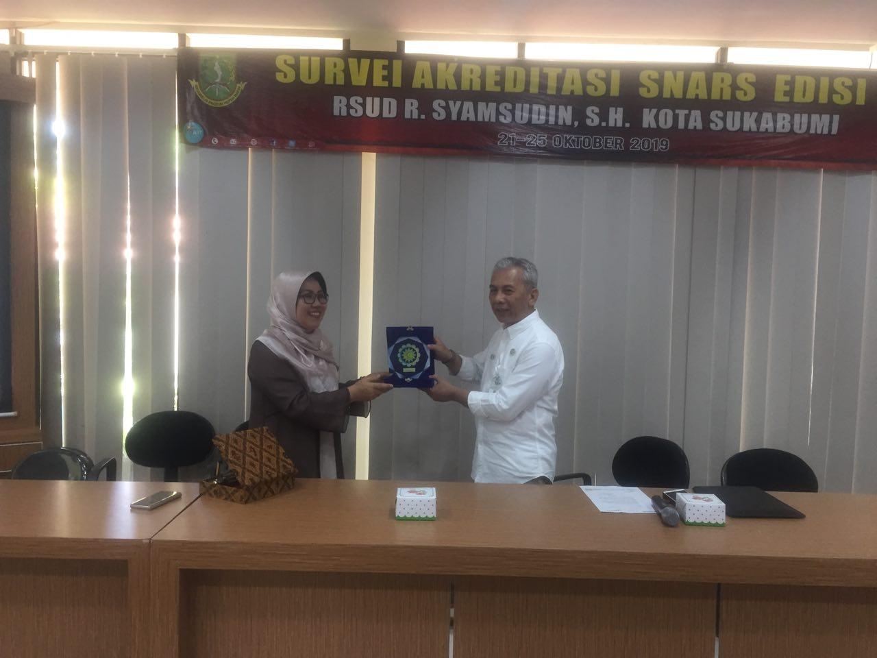 Studi Banding RS Pendidikan RSIJ Pondok Kopi Ke RSUD Syamsudin SH Sukabumi